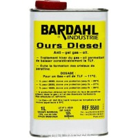 Bardahl Antigel (-29 °C) 1L - Антигел за дизел (антифриз)