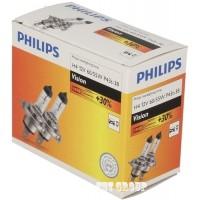 H4 12V 60/55W Philips +30% Халогенна крушка - 2 бр.