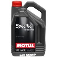 MOTUL Specific 504 00 507 00 5W30 - 5L
