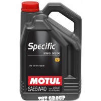 MOTUL Specific 505 01 502 00 5W40 - 5L